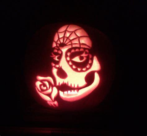 day of the dead pumpkin template dia de los muertos by yarrow on deviantart dia de