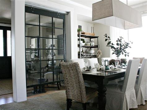 Dining Room Divider by Make Space With Clever Room Dividers Interior Design