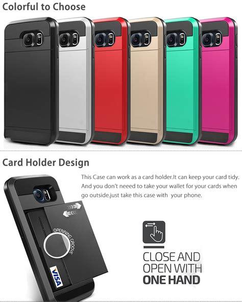 Armor Bumper Rugged Back Soft Cover Casing Samsung Galaxy S7 Edge for samsung galaxy s7 edge s7 slim armor card pocket holder shockproof cove ebay