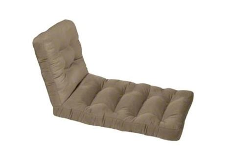 custom chaise cushions custom tufted wicker chaise lounge cushion set