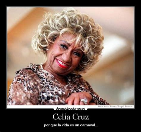 Celia Cruz Meme - usuario faubert desmotivaciones