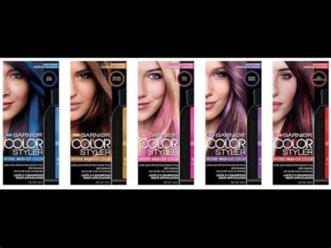 garnier color styler garnier color styler review and demo