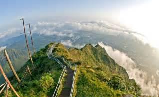 Stairs Hawaii by Haiku Stairs Oahu Hawaii Amazing Places