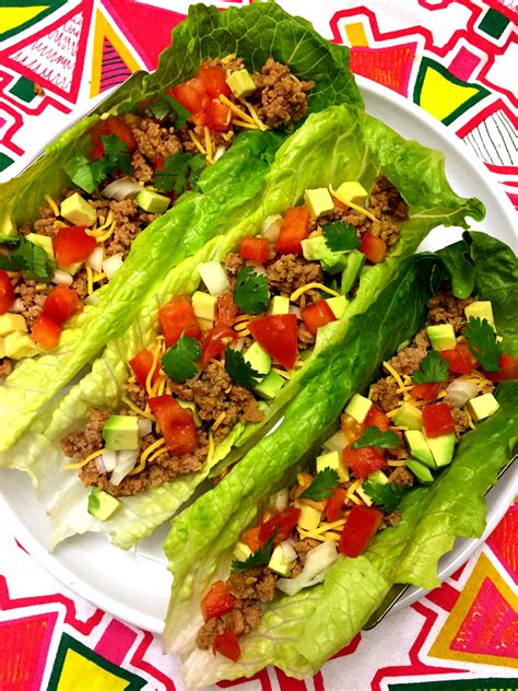 taco boats lettuce healthy turkey taco lettuce wraps recipe low carb and