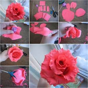 How To Make Crepe Paper Flowers Step By Step - how to make of chocolates step by step diy tutorial