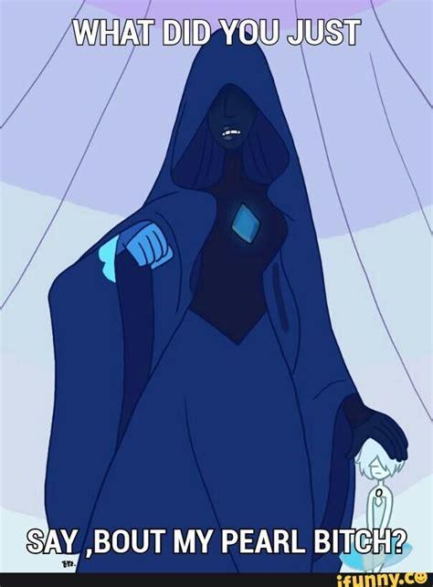 Pearl Meme - bluediamond pearl stevenuniverse memes whatif blue