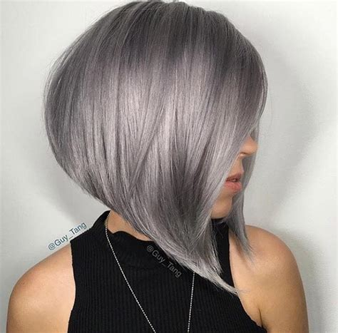 chic haircuts for gray hair 17 cute short hairstyles for women who want a chic look