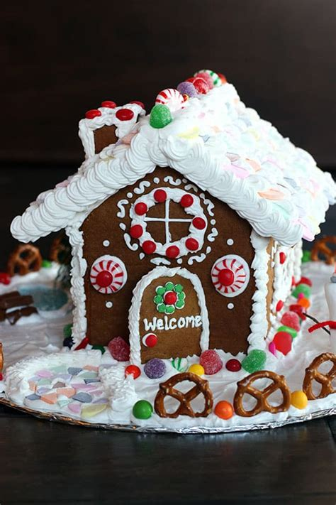homemade gingerbread house how to make a homemade gingerbread house tastes better from scratch