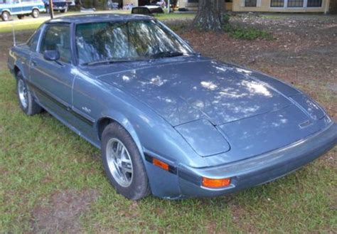 how cars run 1985 mazda rx 7 auto manual buy used 1985 85 blue mazda rx7gs sports car with great rotary engine in covington louisiana