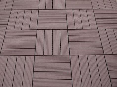 Terrassenplatten Aus Kunststoff by Gartenfreude Everfloor Wpc Holz Kunststoff Gemisch