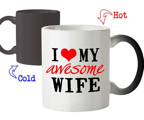 gifts for wife funny mug i love my awesome wife best gifts for wife