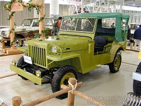 first jeep ever made meet the very first 4x4 toyota ever built it is called a