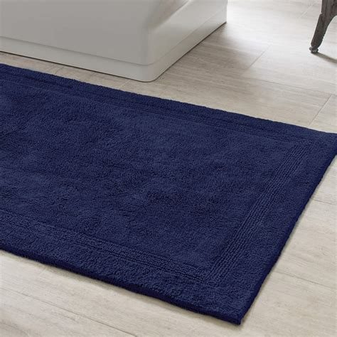 Signature Indigo Bath Rug Pine Cone Hill Rugs For The Bathroom