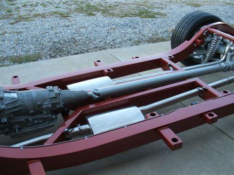 1956 chevrolet frame with c4 corvette suspension