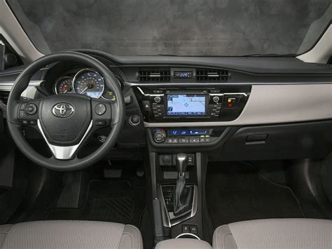Toyota 2015 Interior 2015 Toyota Corolla Price Photos Reviews Features