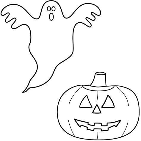 images to color ghost coloring pages to and print for free