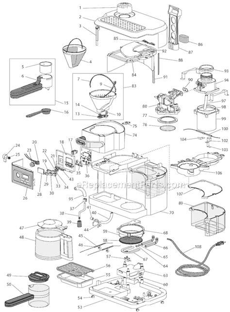 DeLonghi BCO330T Parts List and Diagram : eReplacementParts.com