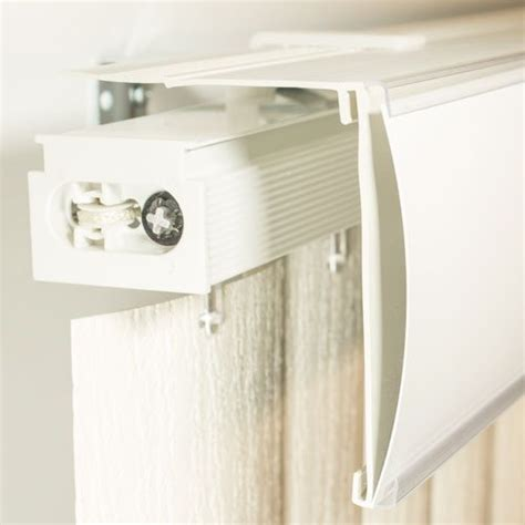 Vertical Blind Valances Vertical Blind Valance Types And Associated Mounting Clips