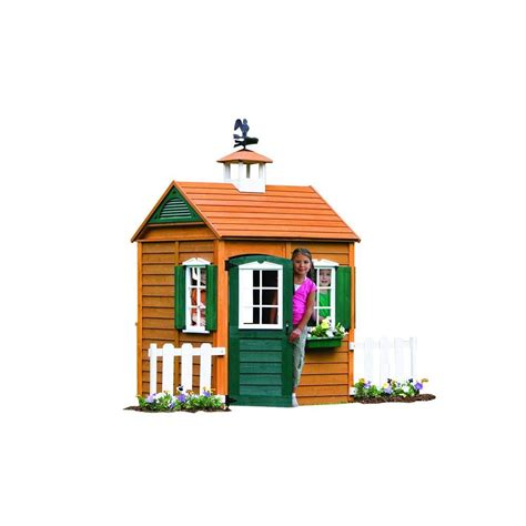 big backyard playhouses big backyard bayberry playhouse p280050 the home depot