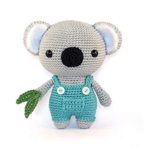 crochet pattern koala bear koala amigurumi pattern by mariska vos bolman more
