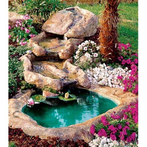 ruscello in giardino cascata da giardino con 3 ruscelli