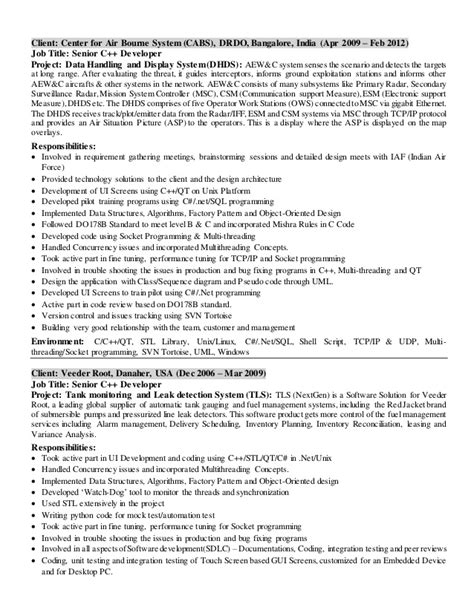 Northwestern Resume Sle Clearcase Fixed Income Programmer Resume