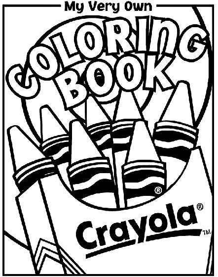 coloring book cover coloring crayola