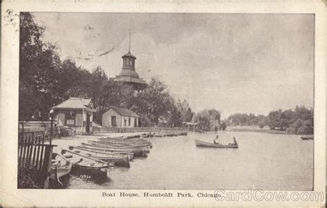 humboldt park boat house boat house at humboldt park chicago il postcard
