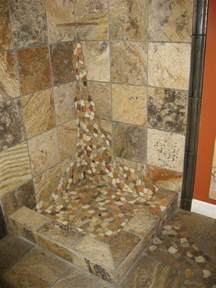 river rock for shower floor river rock shower floor