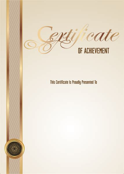 empty certificate blank png image  images