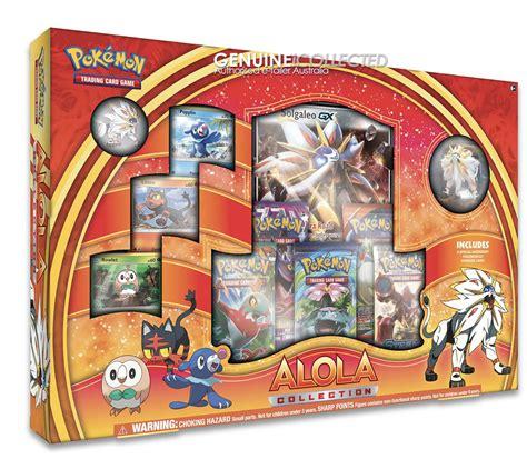 Buku Sun Moon The Official Alola Region Collector S Edition solgaleo gx alola sun moon card box 5 boosters holo promo figure more ebay