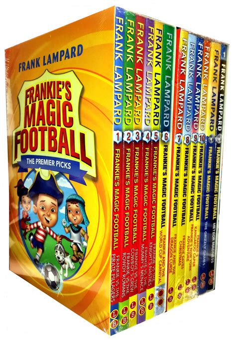 frankies magic football frank lard 12 books collection