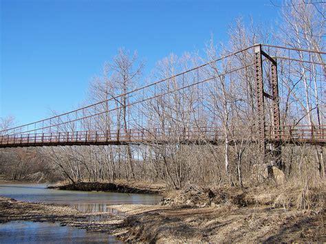 swinging bridge lake of the ozarks swinging bridges lake of the ozarks area flickr