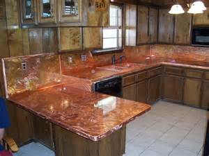 Copper Kitchen Countertops Kitchen Cabinets Quicua