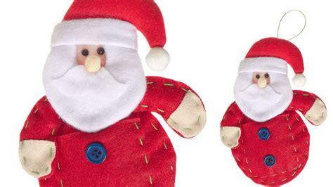 Imagenes De Santa Claus Para Hacer En Fieltro | santa claus de fieltro imagui