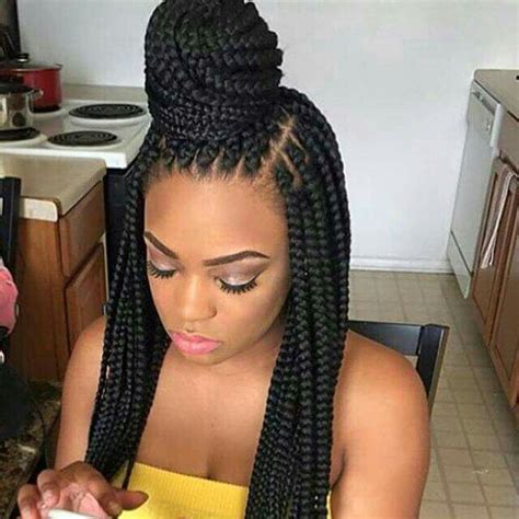 pretty latch braids hairstyles 25 best box braids ideas on pinterest