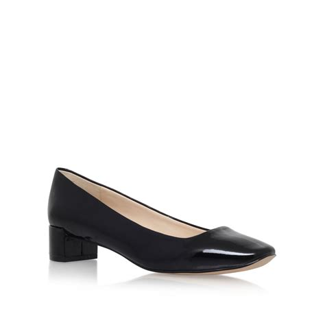 Connexion Mid Low Heels Gold nine west olencia3 low heel court shoes in black lyst