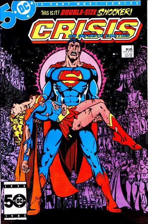 crisis on infinite earths george p rez cosplays the of supergirl a lot
