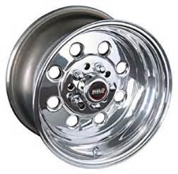 Truck Drag Racing Rims Weld Racing Draglite 90 Polished Aluminum