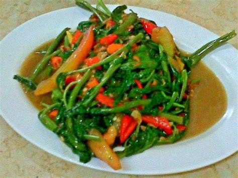 resep   membuat tumis sayur kangkung aneka resep