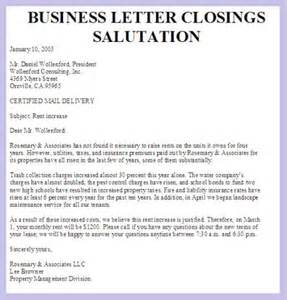 Business Letter Closings Uk Formal Letter Closings Custom College Papers