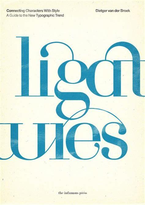 typography ligature the world s catalog of ideas