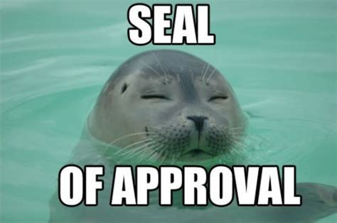 3 Approved Memes - spinning seal cute animals know your meme
