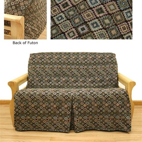 skirted futon covers southwest skirted futon cover buy from manufacturer and