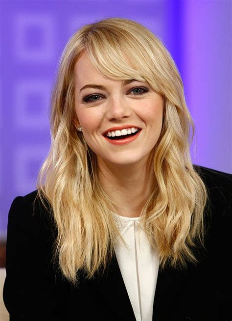 emma stone wavy hair 13 great emma stone hairstyles pretty designs