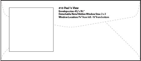 Envelope Templates Specialty Envelope Template Wsel Western States Envelope Templates