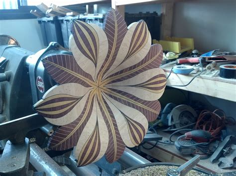 segmented flower bowl blank wood turning projects wood