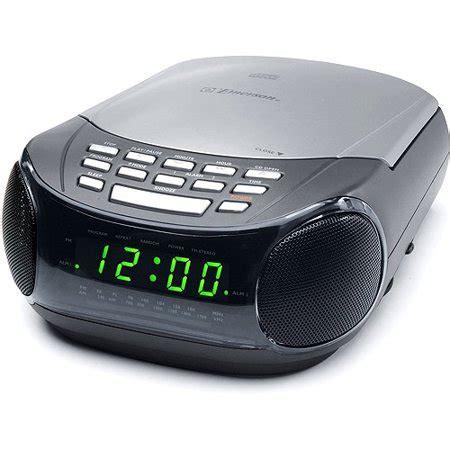 dual alarm clock  cd player  amfm radio walmartcom