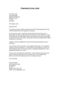 Sample Cover Letter For Pharmacy Technician Job