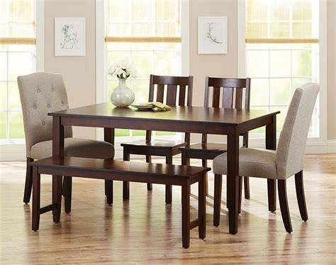 better homes and gardens dining room furniture better homes and gardens 6 piece dining set with parsons